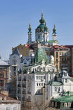 View of St Andrew's Church in Kiev, Ukraine Royalty Free Stock Photos