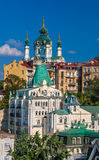 View of St Andrew's Church - Kyiv, Ukraine Stock Photos