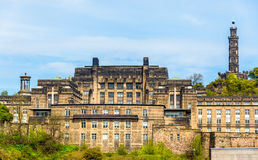 View of St. Andrew's House Edinburgh Royalty Free Stock Photos