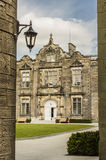 View at St. Andrews University. View to the Lower & Upper College Halls in St. Andrews University Stock Image