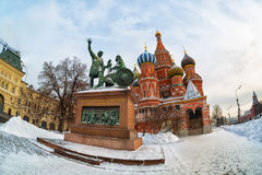 View of St. Basil's Cathedral Stock Photos