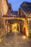 Old Town of Tallinn, Estonia. View of St. Catherine`s Passage, Old Town of Tallinn, Estonia royalty free stock image