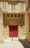 The view of of St. Dorothy`s Convent. Mdina. Malta Stock Photography