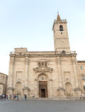 View of St. Emidio's cathedral Royalty Free Stock Photography