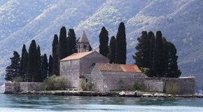 View of St.George monastery and island Stock Image
