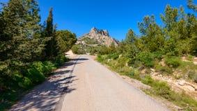 View of St. Hilarion castle near Kyrenia 17 Royalty Free Stock Photos