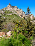 View of St. Hilarion castle near Kyrenia 3 Stock Images