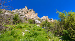 View of St. Hilarion castle near Kyrenia 10 Stock Image