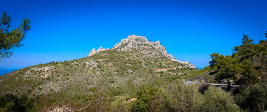View of St. Hilarion castle near Kyrenia 20 Royalty Free Stock Photography