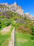 View of St. Hilarion castle near Kyrenia 23 Stock Photography