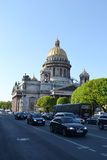 View of St. Isaac Cathedral. Royalty Free Stock Image