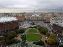 View from St. Isaac Cathedral Royalty Free Stock Image
