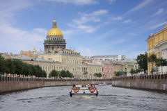 View of St. Isaac's Cathedral Stock Photography