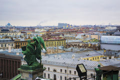 View from St. Isaac's Cathedral Stock Image