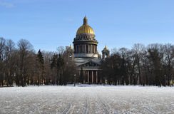 St. Isaac's Cathedral. Stock Photography