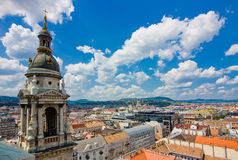 View from St. Istvan cathedral Royalty Free Stock Image