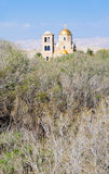 View on St.John church near baptism site Royalty Free Stock Image