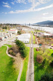 A view from st.johns historic bridge Royalty Free Stock Photo