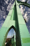 A View of st Johns historic bridge. A beautiful View of st Johns historic bridge royalty free stock photos