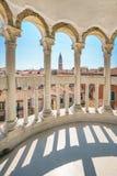 View of St Mark campanile from Palazzo Contarini in Venice Italy Stock Photos