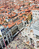 View of St Mark's Square in Venice, Stock Image