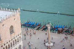 View of St Mark's Square in Venice, Italy Stock Photo