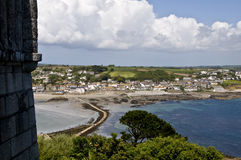 The View from St Michaels Mount Royalty Free Stock Images