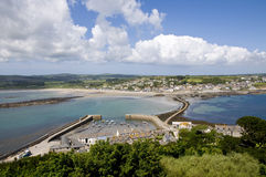 View from St Michaels Mount Royalty Free Stock Photos