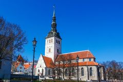 Saint Nicholas Church In Tallinn, Estonia royalty free stock image