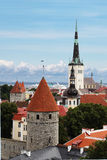 View on St. Olaf's Church in Tallinn Stock Photography
