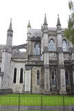 View of St. Patrick's Cathedral. Dublin, Ireland Royalty Free Stock Photo