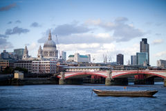 View on St. Paul's Cathedral Royalty Free Stock Photo