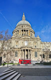 View of St Paul's Cathedral Stock Image