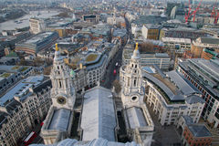 View from St Pauls Dome Royalty Free Stock Photo