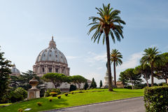 View at the St Peter's Basillica Royalty Free Stock Images