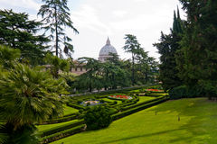 View at the St Peter's Basillica Royalty Free Stock Photos