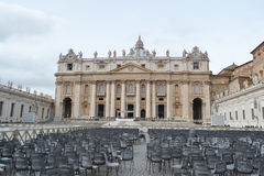 View of St. Peter's Square Stock Image