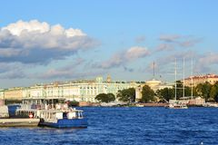 View of the St.Petersburg Stock Images