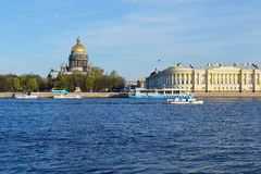 View of the St.Petersburg Royalty Free Stock Images