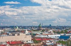 The view  of St. Petersburg Stock Photos