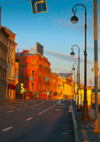 View of St. Petersburg in morning Stock Images