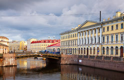 View of St. Petersburg. Moyka River Stock Photography