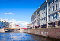 View of St. Petersburg. Moyka River Royalty Free Stock Image