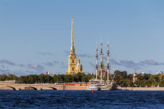 View of St Petersburg, Russia Royalty Free Stock Photography