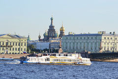 View of St.Petersburg. Royalty Free Stock Image
