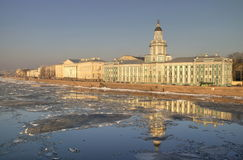 View of St Petrsburg. View of spring time in St Petersburg Royalty Free Stock Photo