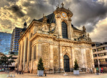View of St. Sebastien church in Nancy - France Royalty Free Stock Image