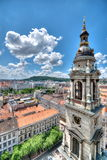 View from St. Stephan basilica, Budapest Stock Images