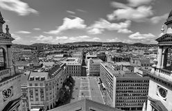 View from St. Stephan basilica, Budapest Stock Photos