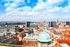 View from St. Stephen's Cathedral Royalty Free Stock Images